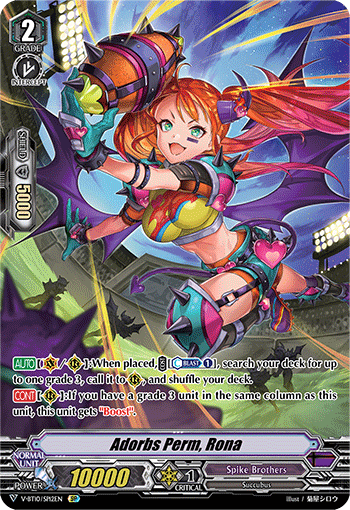 Adorbs Perm, Rona - V-BT10/SP12 - SP available at 401 Games Canada