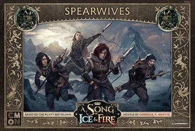 A Song of Ice and Fire - Tabletop Miniatures Game - Free Folk - Spearwives - 401 Games