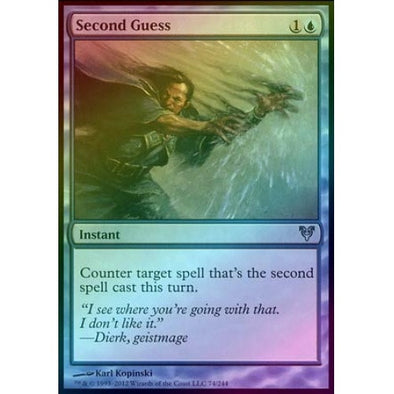 Second Guess (Foil) (AVR) - 401 Games