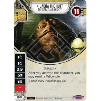 Jabba The Hutt - The Great and Mighty - 401 Games