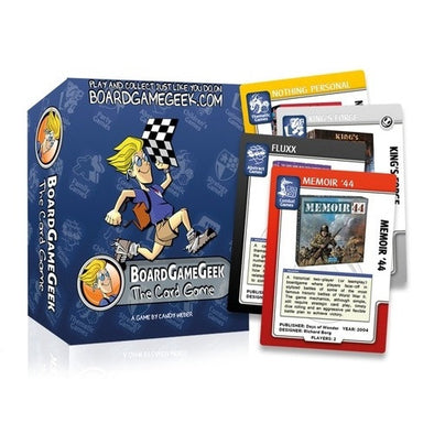 Board Game Geek - The Card Game (No Restock) - 401 Games