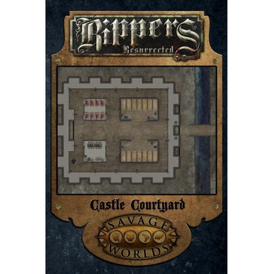 Buy Savage Worlds - Rippers Resurrected: Castle Courtyard and more Great RPG Products at 401 Games