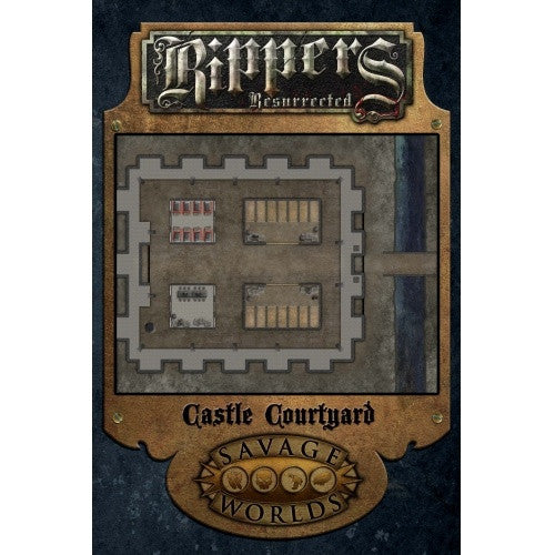 Savage Worlds - Rippers Resurrected: Castle Courtyard - 401 Games