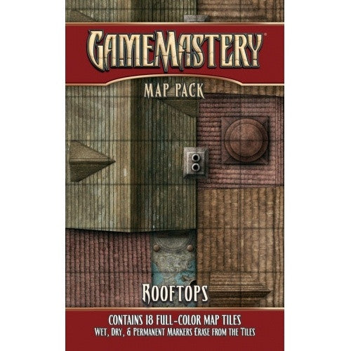 Buy Tile Set - Game Mastery - Rooftops and more Great RPG Products at 401 Games