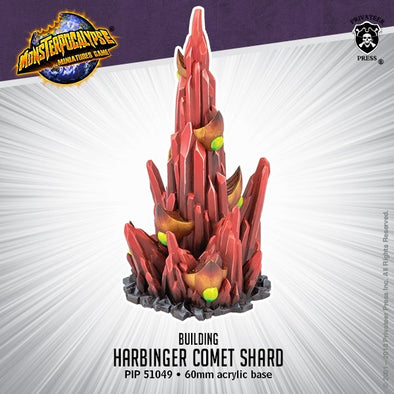 Buy Monsterpocalypse Miniatures Game - Building - Harbinger Comet Shard and more Great Tabletop Wargames Products at 401 Games