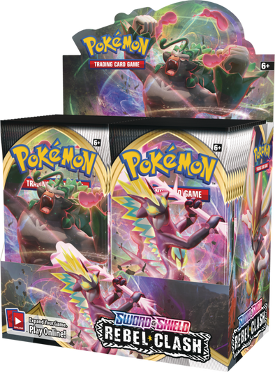 Pokemon - Rebel Clash Booster Box available at 401 Games Canada