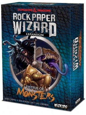 Buy Dungeons and Dragons - Rock, Paper Wizard - Fistful of Monsters and more Great Board Games Products at 401 Games