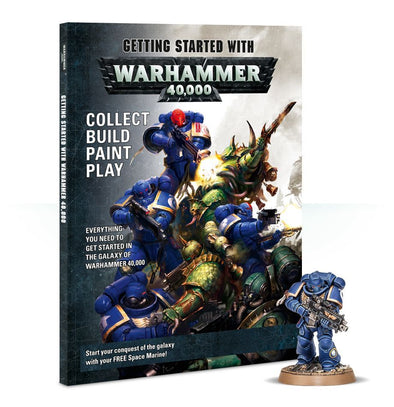 Buy Warhammer 40,000 - Getting Started With Warhammer 40,000 and more Great Games Workshop Products at 401 Games