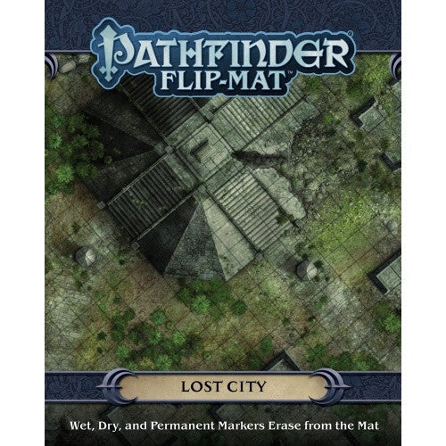 Buy Pathfinder - Flip Mat - Lost City and more Great RPG Products at 401 Games