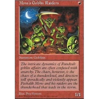 Mons's Goblin Raiders - 401 Games