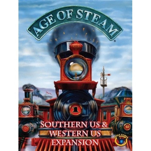 Age of Steam - Southern US & Western US Expansion
