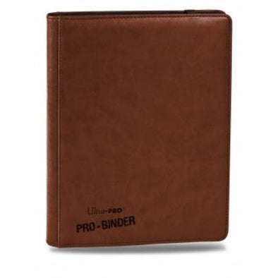 Buy Ultra Pro - Premium Pro Binder- Brown Leatherette and more Great Sleeves & Supplies Products at 401 Games