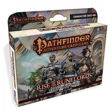 Buy Pathfinder Adventure Card Game - Rise of the Runelords - Character Add On Deck and more Great Board Games Products at 401 Games