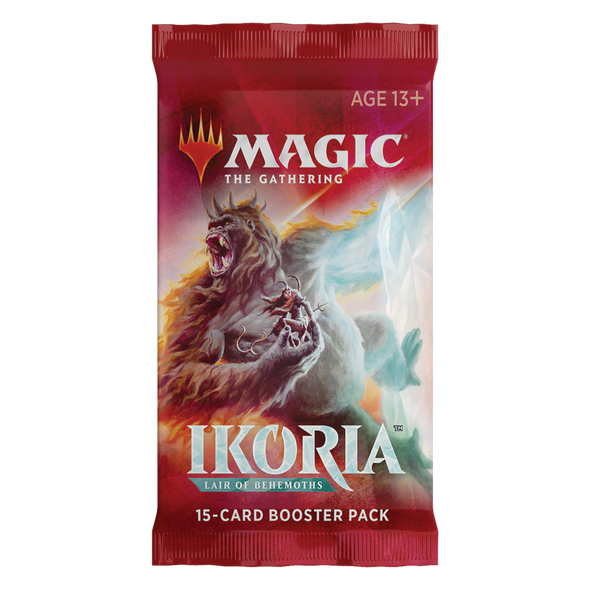 MTG - Ikoria Lair of Behemoths - English Booster Pack - 401 Games