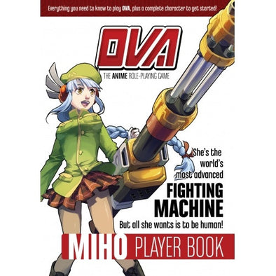 OVA: The Anime Role Playing Game - Miho Player Book - 401 Games
