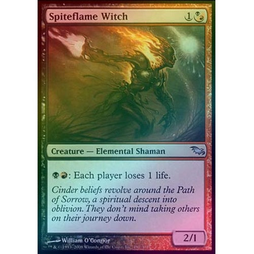 Spiteflame Witch (Foil) - 401 Games