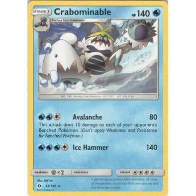Buy Crabominable - 43/149 and more Great Pokemon Products at 401 Games