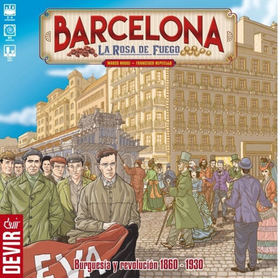 Barcelona - The Rose of Fire - 401 Games