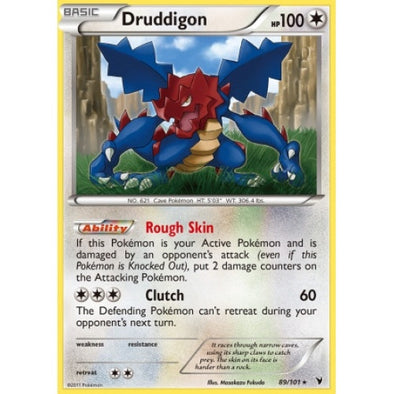 Buy Druddigon - 89/101 - Reverse Foil and more Great Pokemon Products at 401 Games