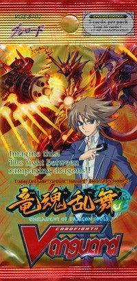 Cardfight!! Vanguard - BT02 - Onslaught of the Dragon Souls Booster Pack available at 401 Games Canada