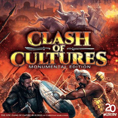 Clash of Cultures - Monumental Edition (Pre-Order) - 401 Games
