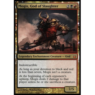 Buy Mogis, God of Slaughter (BNG) and more Great Magic: The Gathering Products at 401 Games