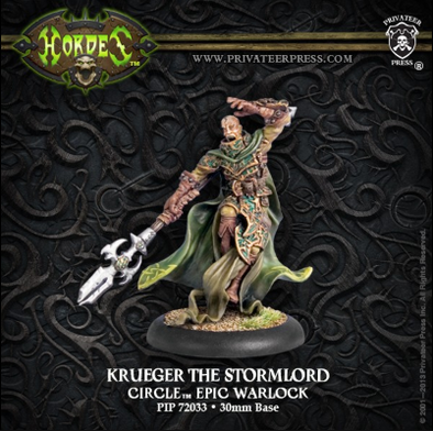 Hordes - Circle Orboros - Krueger the Stormlord - 401 Games
