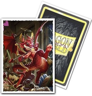 Dragon Shield - 100ct Standard Size - Art - Valentine Dragon 2020