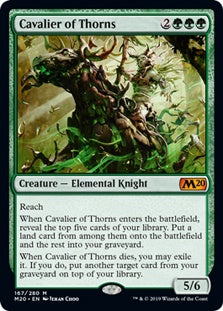 Cavalier of Thorns (M20) - 401 Games