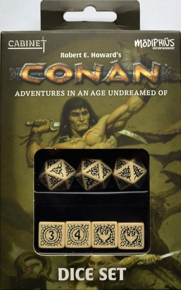 Buy Conan: Dice Set and more Great RPG Products at 401 Games