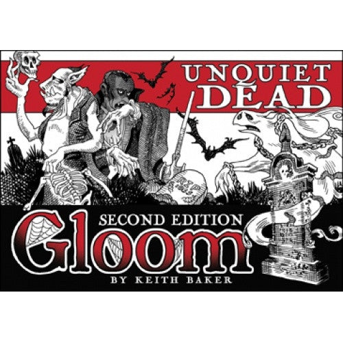 Gloom - Unquiet Dead - Second Edition available at 401 Games Canada