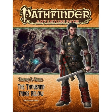 Pathfinder - Adventure Path - #41: The Thousand Fangs Below (Serpent's Skull 5 of 6) - 401 Games