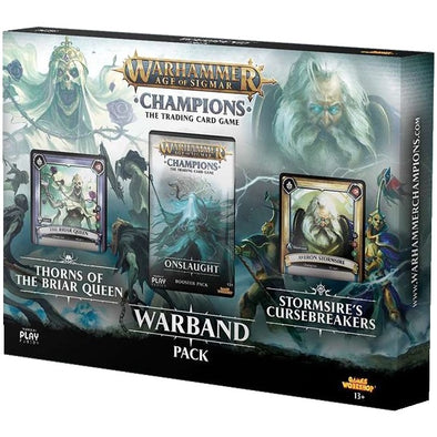Buy Warhammer - Age of Sigmar - Champions - Onslaught Warband Pack and more Great Board Games Products at 401 Games