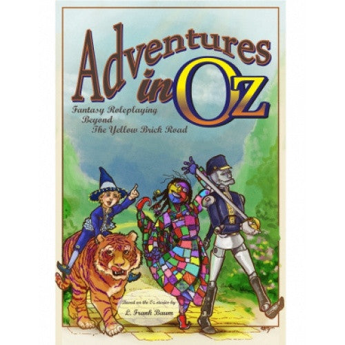 Buy Adventures in Oz: Fantasy Roleplaying Beyond the Yellow Brick Road - Core Rulebook and more Great RPG Products at 401 Games