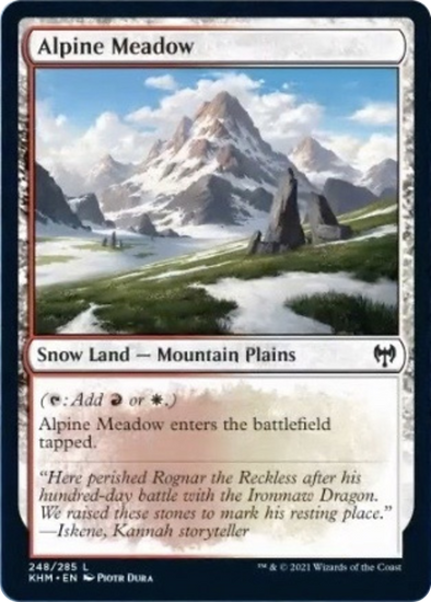 Alpine Meadow (KHM) (Pre-Order: 2021-02-05) available at 401 Games Canada