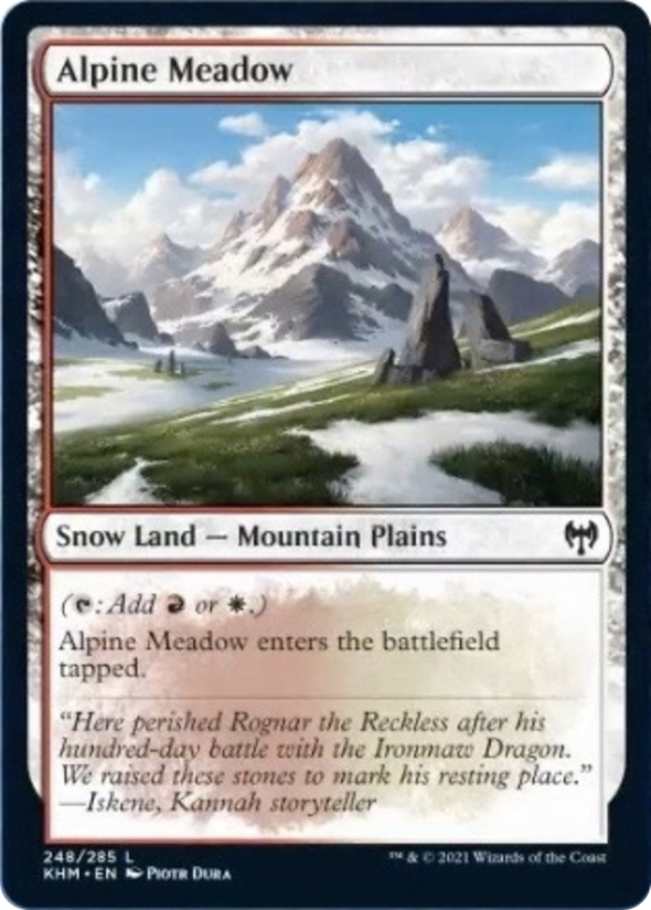 Alpine Meadow (KHM) available at 401 Games Canada