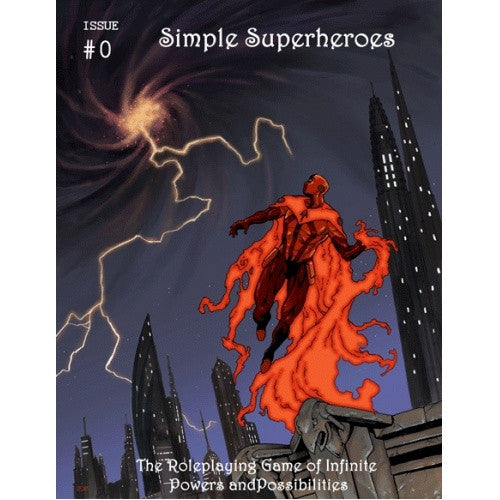 Simple Superheroes: Issue #0 - Core Rulebook - 401 Games