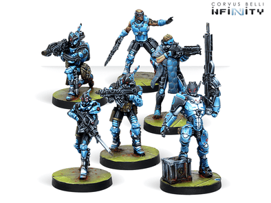 Infinity - PanOceania - Varuna Immediate Reaction Division - Starter Pack - 401 Games