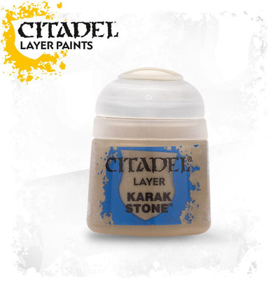 Buy Citadel Layer - Karak Stone and more Great Games Workshop Products at 401 Games