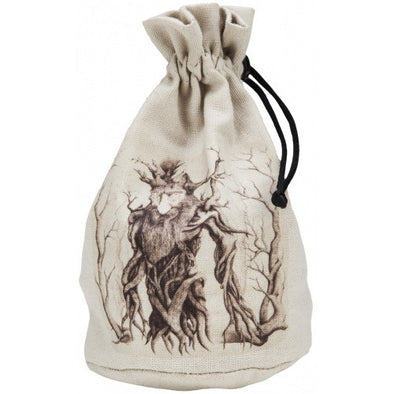 Buy Q-Workshop - Dice Bag - Forest Beige & Black and more Great Dice Products at 401 Games