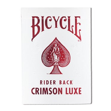Bicycle - Playing Cards - Crimson Luxe