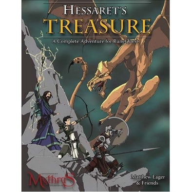 RuneQuest - Hessaret's Treasure - 401 Games