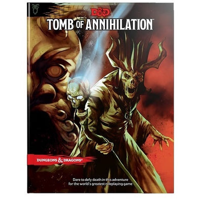 Buy Dungeons & Dragons - 5th Edition - Tomb of Annihilation and more Great RPG Products at 401 Games