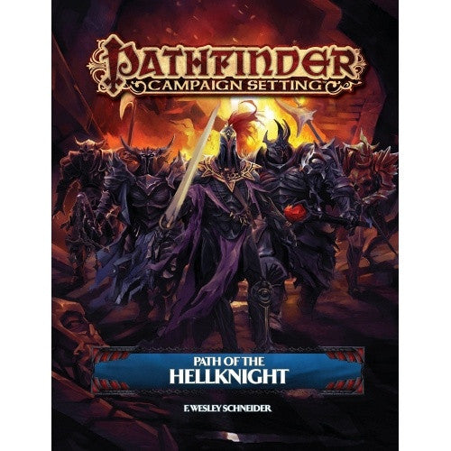 Buy Pathfinder - Campaign Setting - Path of the Hellknight and more Great RPG Products at 401 Games