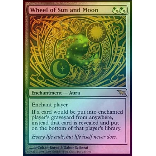 Wheel of Sun and Moon (Foil) - 401 Games