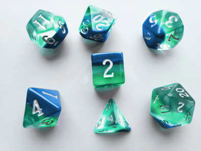 Little Dragon - Birthstone Dice - Turquoise