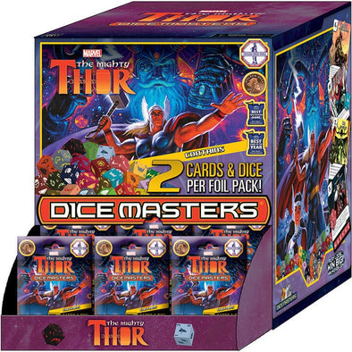 Buy Dice Masters - Mighty Thor - Gravity Feed Booster Box 90CT and more Great Dice Masters Products at 401 Games