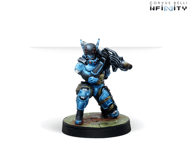Infinity - PanOceania - Echo-Bravo, Fast Intervention Unit (Light Rocket Launcher) - 401 Games