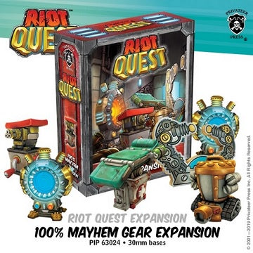 Riot Quest - 100% Mayhem Gear Expansion Box - 401 Games