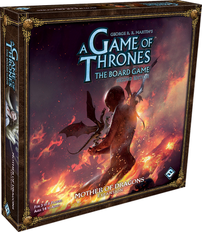 A Game of Thrones: The Board Game - Mother of Dragons Expansion - 401 Games
